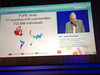 "Munich,  - ESC 2012- David Allen Wood - Discussant presents ""PURE Trial"" during the Hotline session at the European Society of Cardiology annual meeting here today, Sunday August 26, 2012. Over 27,000 attendees have come from over 140 countries to learn the latest in Caridovascular research. Photo by © Todd Buchanan 2012 Technical Questions: todd@toddbuchanan.com;"