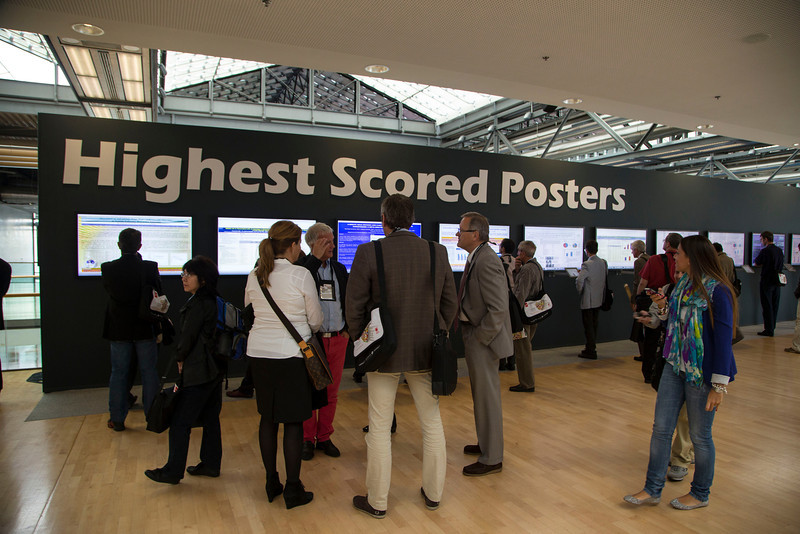 Munich,  - ESC 2012- General Views at the European Society of Cardiology annual meeting here today, Sunday August 26, 2012. Over 27,000 attendees have come from over 140 countries to learn the latest in Caridovascular research. Photo by © Todd Buchanan 2012 Technical Questions: todd@toddbuchanan.com;