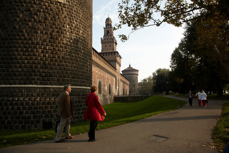 Milan,  - ESMO 2010 - General Views of Milan and Duomo here today, Sunday October 10, 2010 during the European Society of Medical Oncology 2010 Congress. Photo by © Todd Buchanan 2010 Technical Questions: todd@toddbuchanan.com Phone: +1.612.226.5154