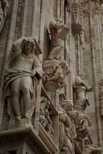 Milan,  - ESMO 2010 - General Views of Milan and Duomo here today, Saturday October 9, 2010 during the European Society of Medical Oncology 2010 Congress. Photo by © Todd Buchanan 2010 Technical Questions: todd@toddbuchanan.com Phone: +1.612.226.5154