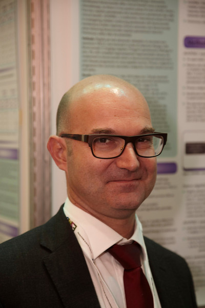 Milan,  - ESMO 2010 - Dr. F Barlesi - Poster 430P  here today, Monday October 11, 2010 during the European Society of Medical Oncology 2010 Congress. Photo by © Todd Buchanan 2010 Technical Questions: todd@toddbuchanan.com Phone: +1.612.226.5154