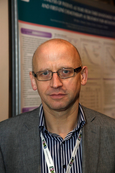Milan,  - ESMO 2010 - Dr. David Mills here today, Monday October 11, 2010 during the European Society of Medical Oncology 2010 Congress. Photo by © Todd Buchanan 2010 Technical Questions: todd@toddbuchanan.com Phone: +1.612.226.5154