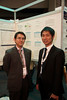 Milan,  - ESMO 2010 - Dr. Inoue at Poster Session here today, Monday October 11, 2010 during the European Society of Medical Oncology 2010 Congress. Photo by © Todd Buchanan 2010 Technical Questions: todd@toddbuchanan.com Phone: +1.612.226.5154