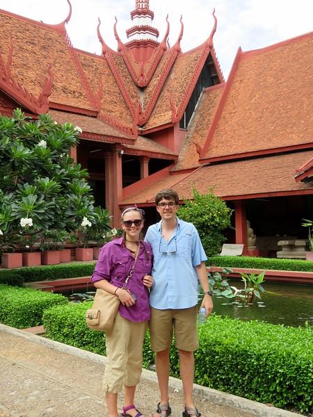 Cambodia Museum_Garden