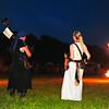 Hyttis musiziert zur Feuershow