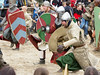 However, now the knights counter-charge ...