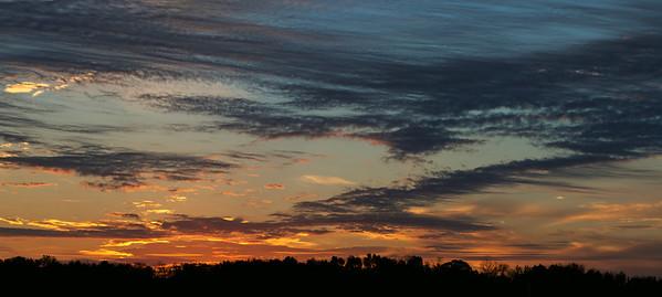 Lake Medina Sunrise, October 2015.