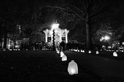 Medina Candlelight Walk, 2015.