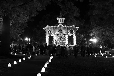 Medina Candlelight Walk, 2017.