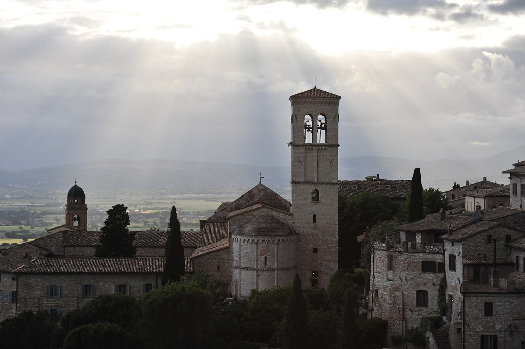 Assisi am Abend