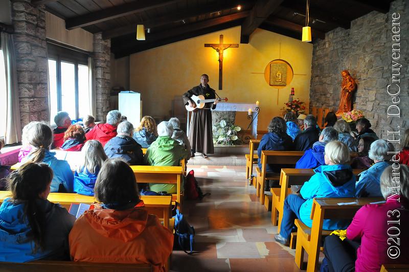 Wortgottesdienst in Eremo delle Carceri