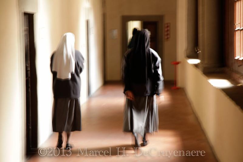 Schwestern in La Verna