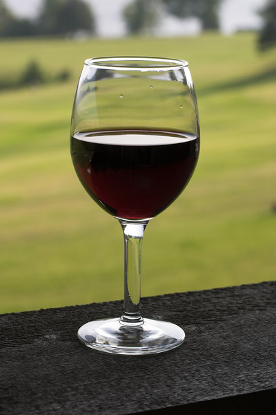 Wine on the Balcony
