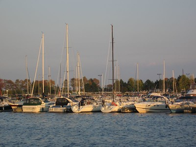 Evening at the Marina