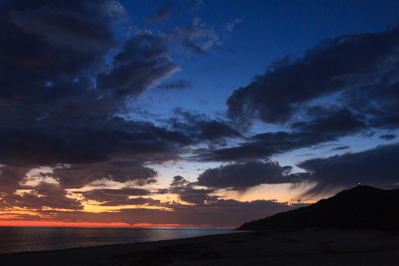 Evening Sky over the Pacific