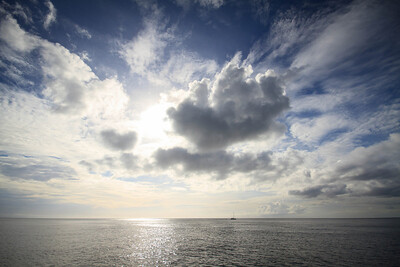 Caribbean Cloudscape
