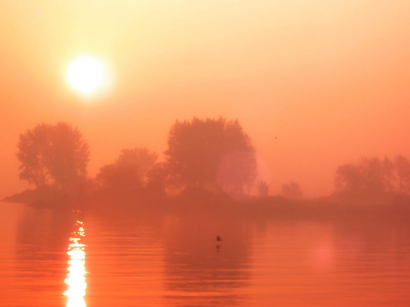 """Surreal Sunrise (Submitted to Photo Friday for """"Red"""")"""