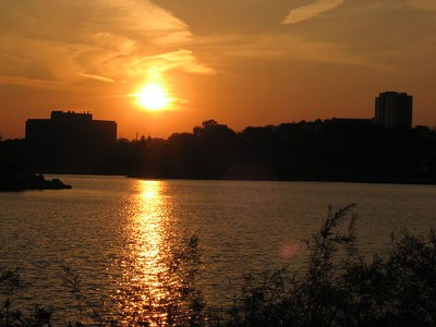Sunset Across Humber Bay