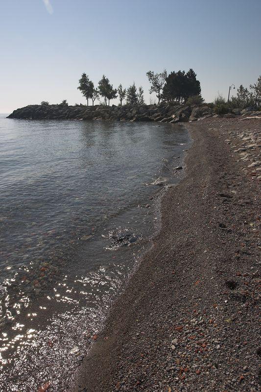 Beach at Humber Bay Park