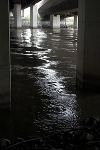 Humber River beneath the Gardiner Expressway