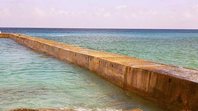 Pier -- Cozumel (APS Film Scan)