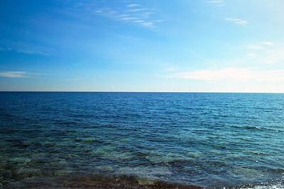 Winter Lake Meditation -- Toronto