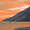 Sunset.  Maori.  Amalfi Coast.