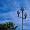 Lanterns.  Promenade des Anglais.  Nice.