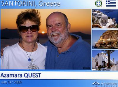 Mediterranean 2009 -  Athens to Rome aboard the Azamara Quest