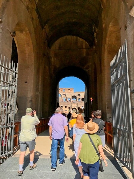 Entering the Gladiator's Gate