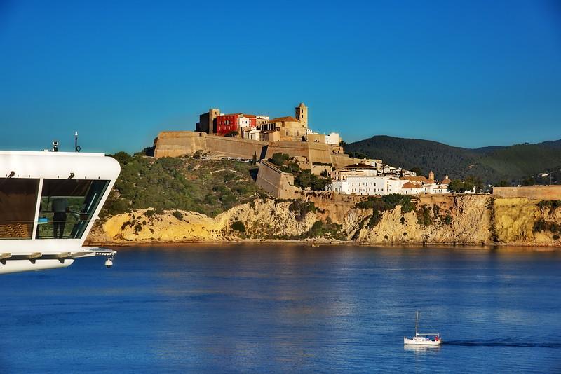 Entry to Ibeza, Spain