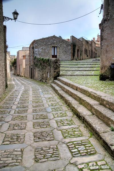 Sicily - Erice Street