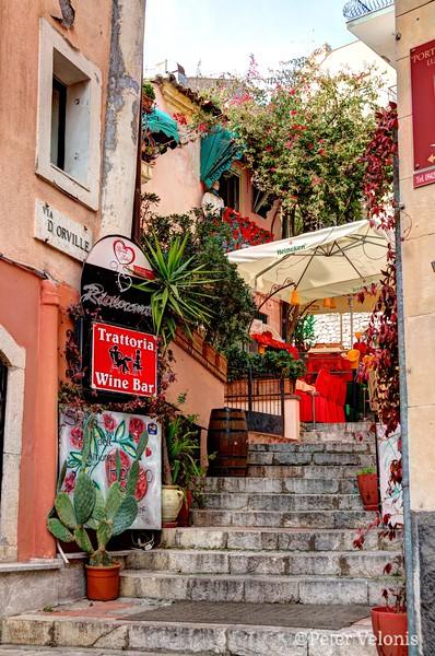 Sicily - Taormina - Trattoria