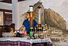 Beer-columns,-Sarajet-restaurant,-Tirana,-Albania