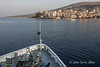 Clipper-Odyssey-anchored-off-Sarande,-Albania