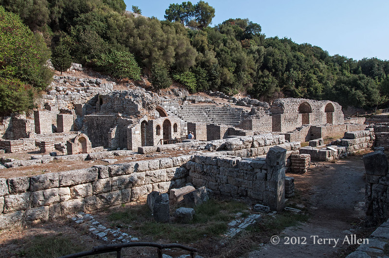 Santuary-of-Asclepius (3 BC),-Butrint,-Albania