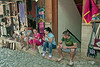 Albanian-youth,-Bizarre-Bazaar-Market,-Kruja,-Albania