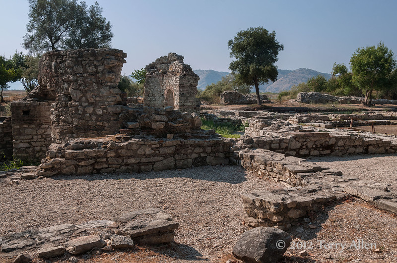 Triconch-palace-c-400-AD-2,-Butrint,-Albania