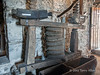 Olive-press-Skanderbeg-museum,-Kruja,-Albania