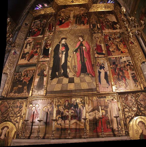 Side Altar Triptych