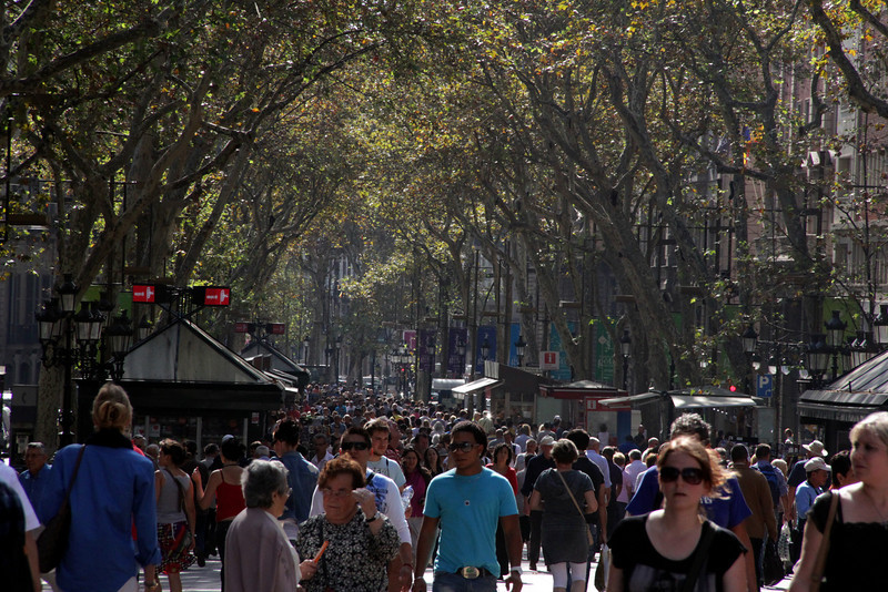 Pedestrian Way, The Rambla