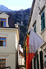 Kotor Old City, Morning: View to Hillside