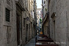 Narrow-side-street,-Dubrovnik,-Croatia