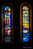 Stained-glass-windows,-Dominican-Church,-Dubrovnik,-Croatia