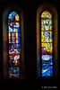 Stained-glass-windows,-Dominican-Church,-Dubrovnik,-Croatia
