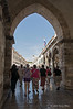 Gate-of-Ponte-&-Stradun-Placa,-Dubrovnik,-Croatia