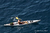 Sea-Kayaker,-Dubrovnik,-Croatia