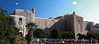 Panorama of City Walls from Outside the Pace Gate