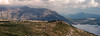 Panorama of Old Serbian Battlements south of Dubrovnik & Hinterland