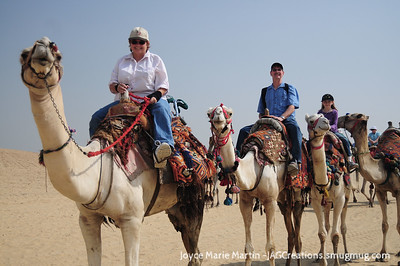 Yup, they got me on a camel!